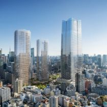 Mori Building announces massive urban regeneration project in central Tokyo