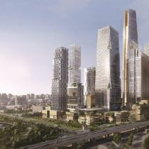 Work starts on one of region's tallest towers