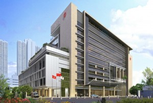 Tin Shui Wai Hospital is set for completion by mid 2016.   (Architectural Services Department - HKSAR Government)