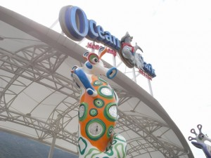 Ocean Park hopes to get its first hotel Ocean Hotel up and running in 2016   (Danny Chung)