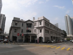 Reprovisioning of Yau Ma Tei Police Station is due to  start in June 2013  (Danny Chung)