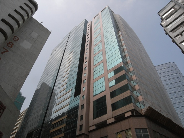 Paul Y Centre (left) and Spectrum Tower are set for a complete makeover to cash in on a government initiative to transform Kowloon East into a new business district.  (Danny Chung)