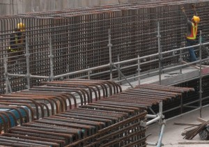 Offsite fabrication of steel reinforcement could be replacing traditional onsite fabrication in future if the government makes land available for offsite cut and bend  (Danny Chung)