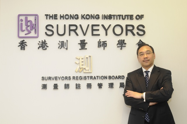 HKIS president Stephen Lai Yuk-fai says surveying firms are most keen to hire assistant surveyor grade staff to cope with increased workload (Danny Chung)