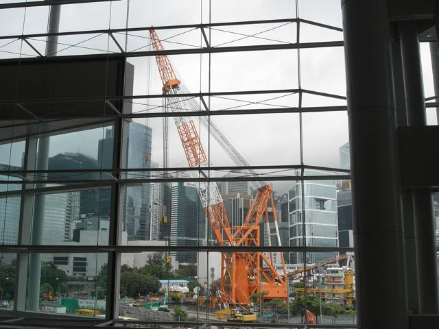 The view from the Hong Kong Convention and Exhibition Centre  (Danny Chung)