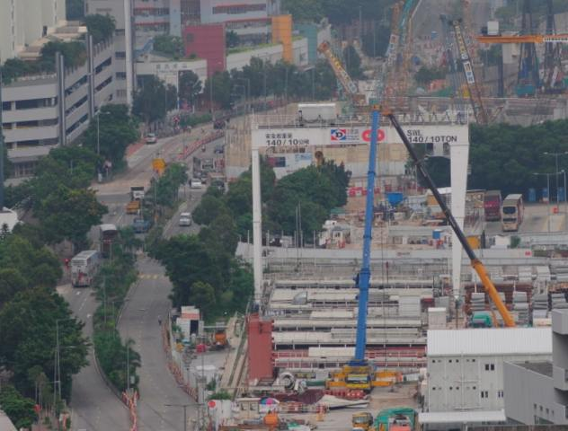 The Lai Chi Kok site on 13 June 2013   (Danny Chung)