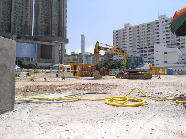 The Xiqu Centre site on 9 September 2013  (Danny Chung)