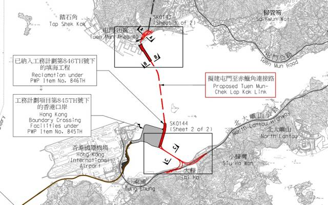 The Development Bureau says the RSS team for the Tuen Mun-Chek Lap Kok Link will number about 400 staff  (HKSAR Government)