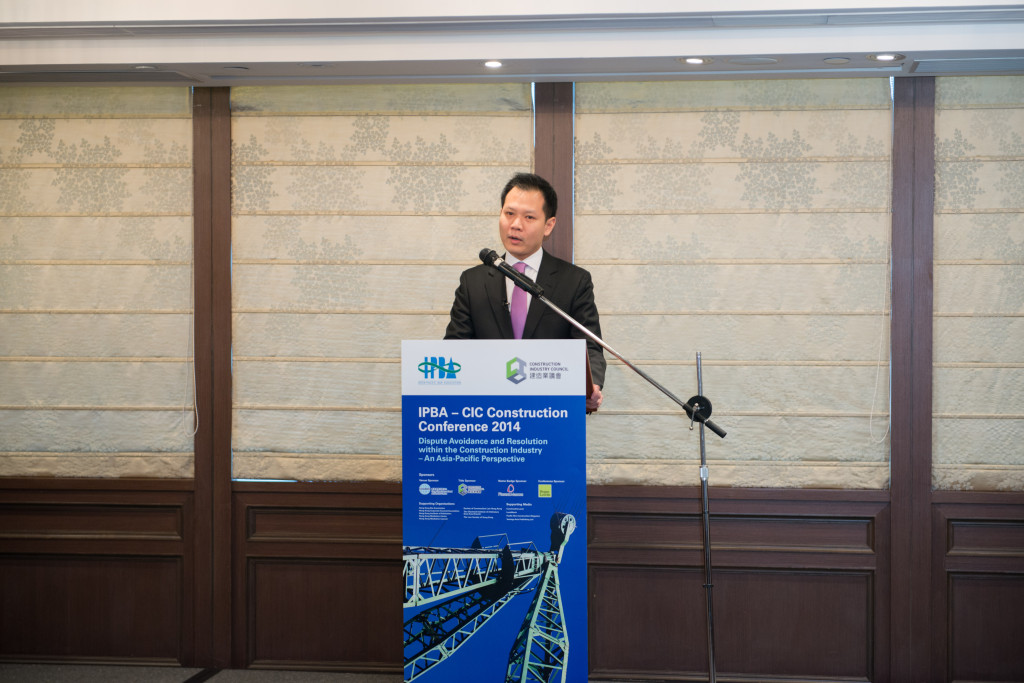 Hon. Dennis KWOK, Member of Legislative Council, HKSAR delivered a Key Note Address at the Conference Luncheon