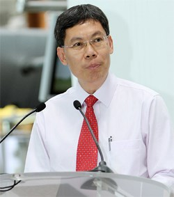 Singapore Transport Minister Lui Yuck Tew