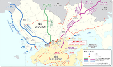 Legco's Finance Committee gives go ahead for Hong Kong border crossing