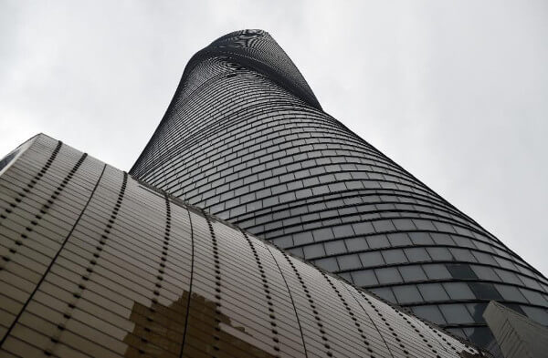 The under-construction Shanghai Tower, will soon open in the Chinese financial capital with a twist  …