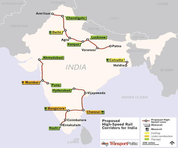 Japan Offers India Soft Loan For Bn Bullet Train In Edge Over - Japan map bullet train