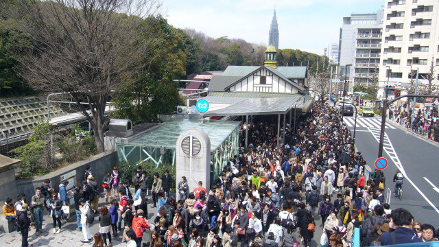 Harajuku Station will be demolished after the Tokyo Olympics and Paralympics